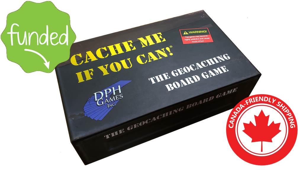 Cache Me If You Can! The Geocaching Board Game project video thumbnail