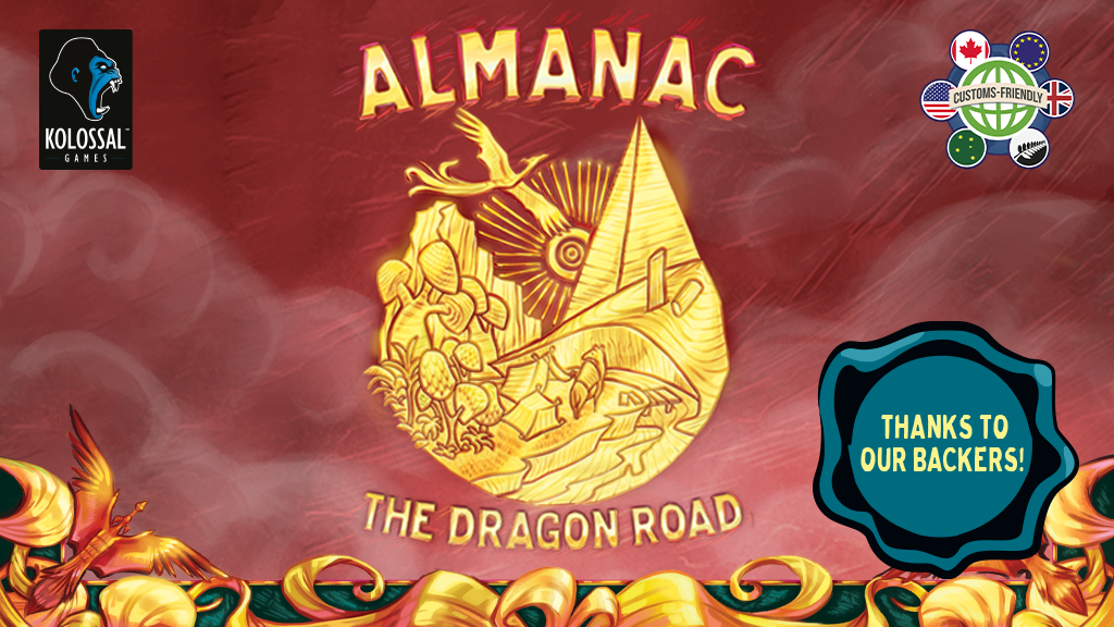 Almanac: The Dragon Road project video thumbnail