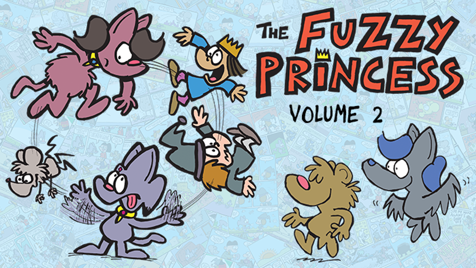 "The second book collection of ""The Fuzzy Princess"" webcomic!"