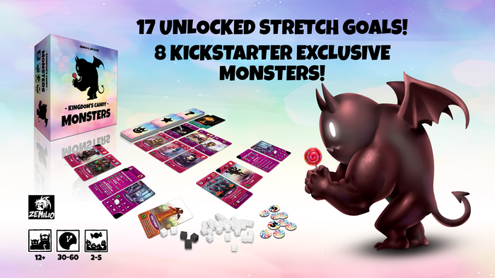 The engine-building game with many possible paths to victory! Build your army of monsters and steal candies from the Kingdom.