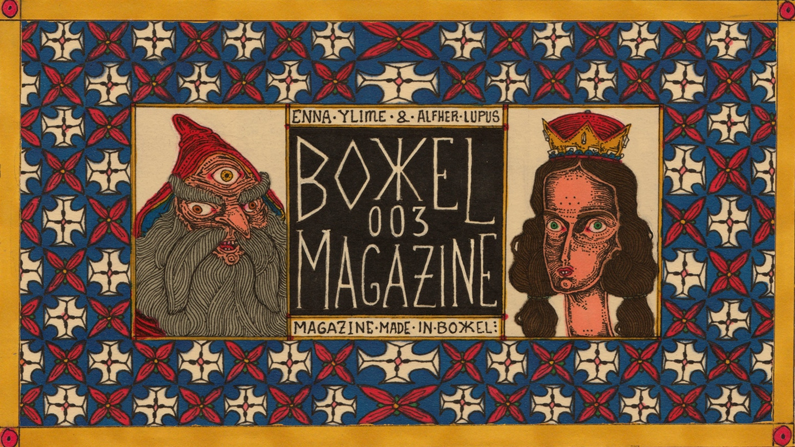 Bokkel magazine 003 brimming with riddles, short stories with a few twists and mental games all fully illustrated. #make100 campaign