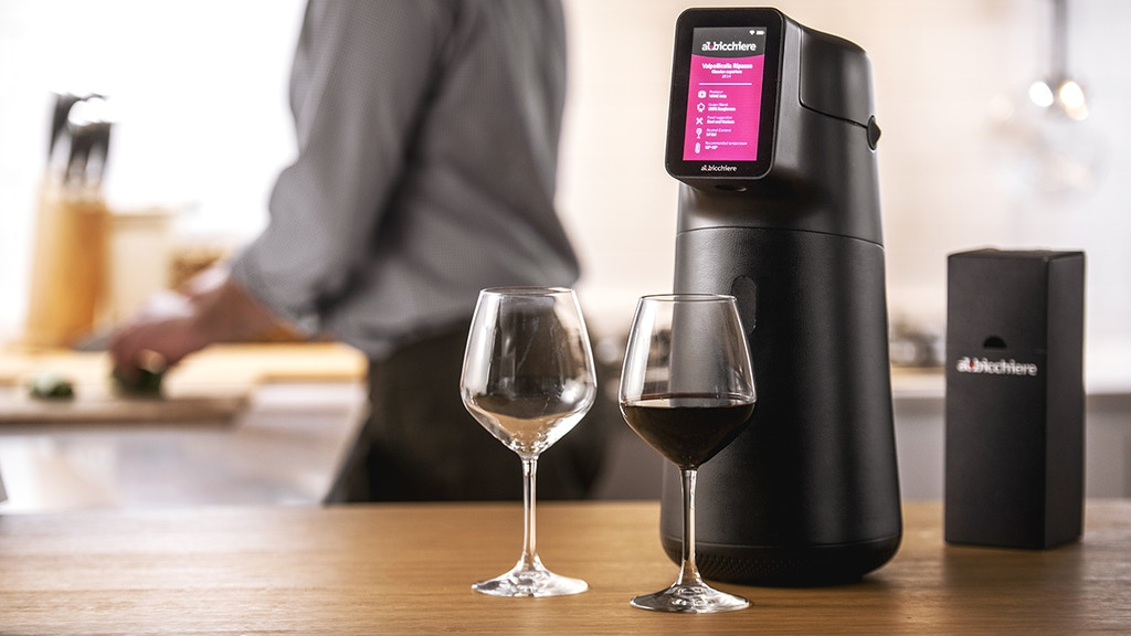 Albicchiere - Smart Wine Preservation & Dispenser project video thumbnail