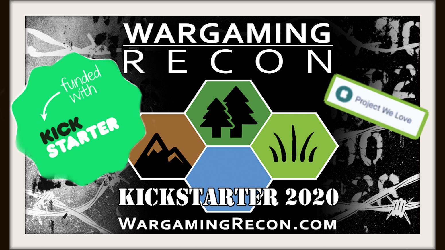 Wargaming Recon 2020 podcast season