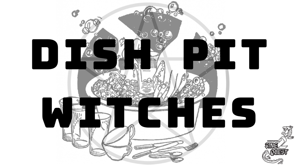 Project image for Dish Pit Witches