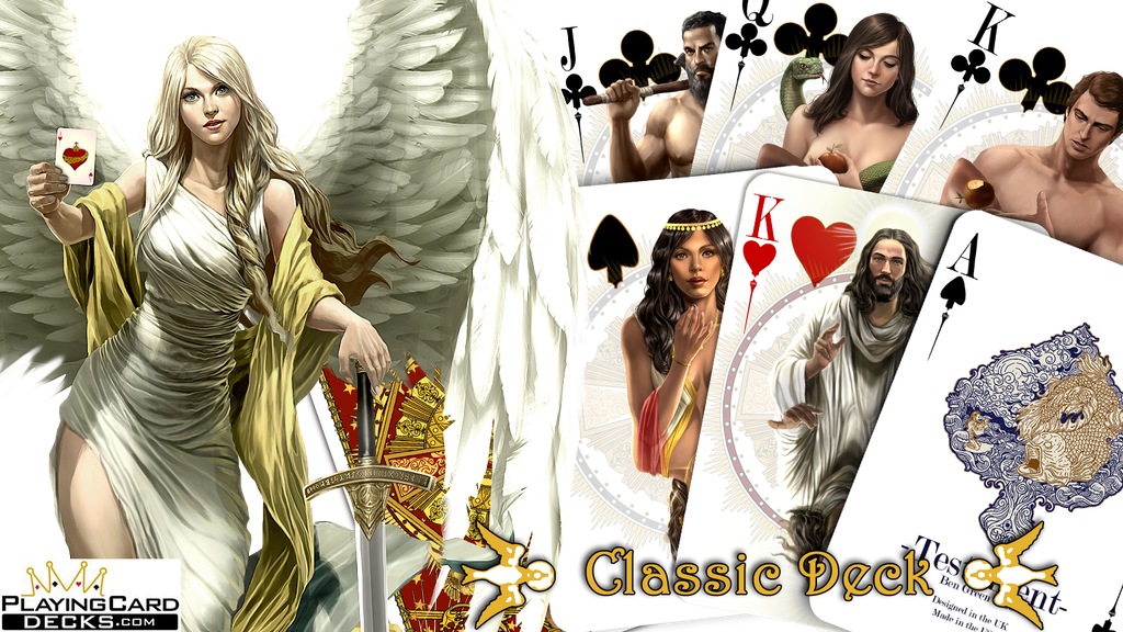 Project image for Testament; Playing cards inspired by the Bible Stories