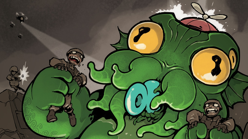 Cthulhu is Hard to Spell: Two Lovecraft comic anthologies project video thumbnail
