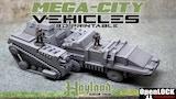 Mega - City Vehicles : 3D Printable Files thumbnail