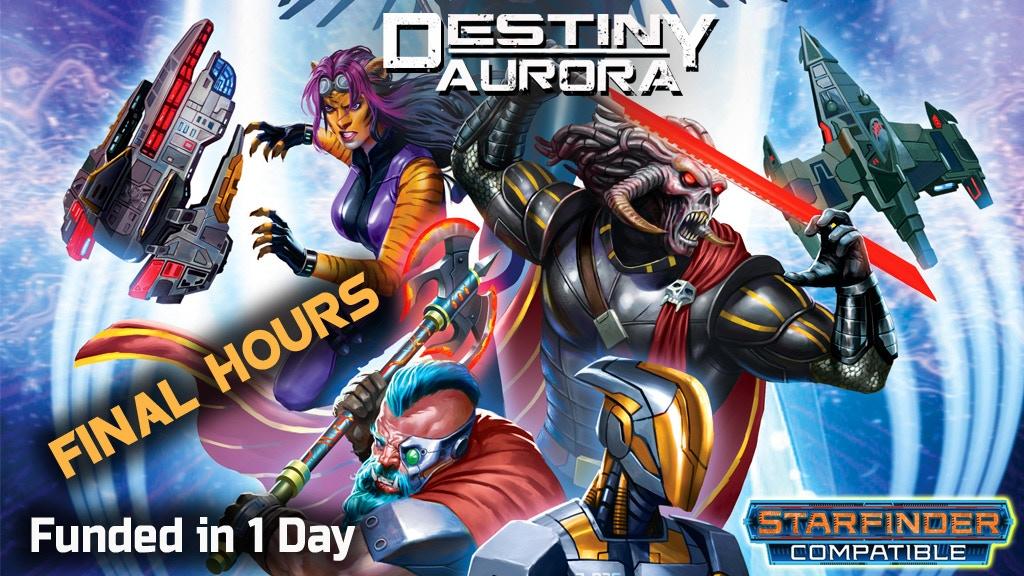 Destiny Aurora-Starfinder-Sci-fi RPG project video thumbnail