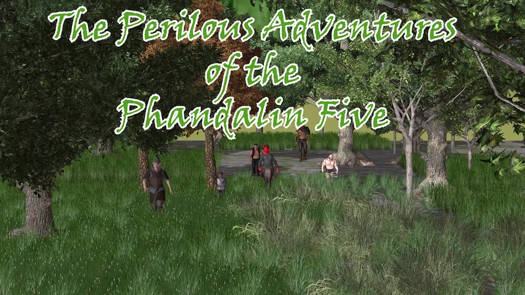 Project image for A D&D Story: The Perilous Adventures of the Phandalin Five