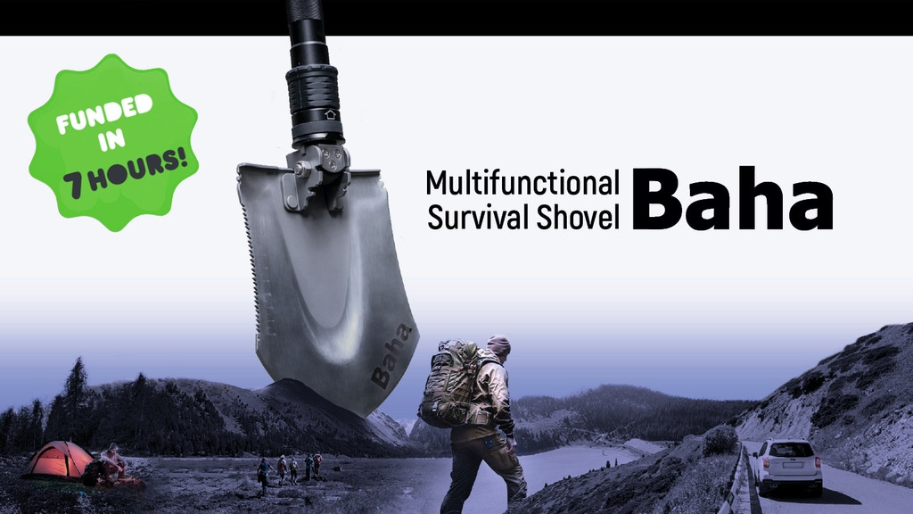 BAHA SHOVEL | Multifunctional Tool for Survival Experience project video thumbnail