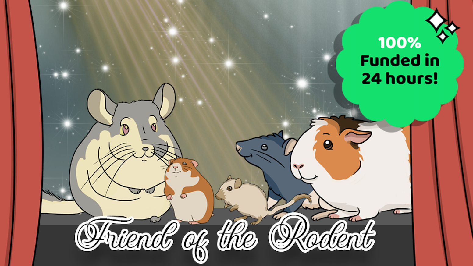 T-shirts, stickers, and coloring pages based your favorite rodents!