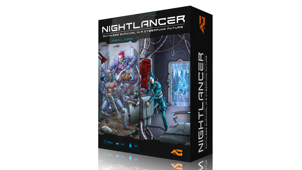 Nightlancer begins project video thumbnail