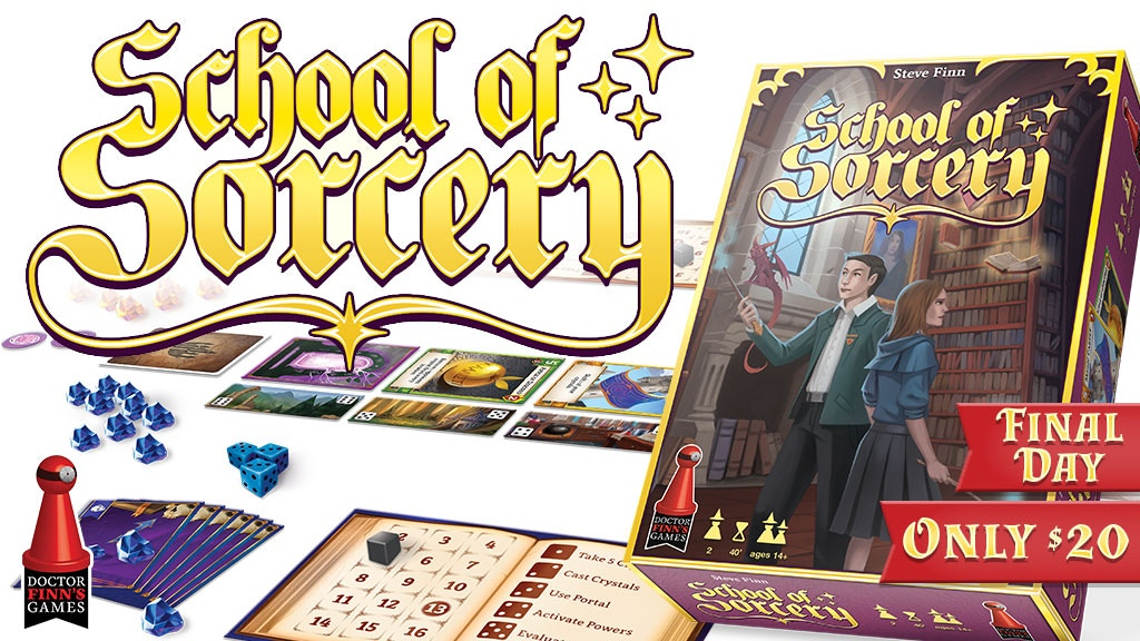 School of Sorcery project video thumbnail