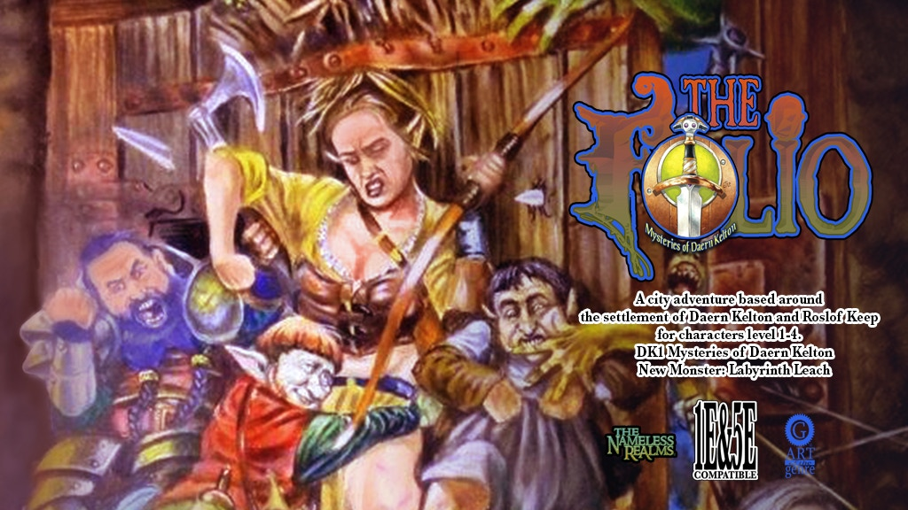 The Folio Digital Quarterly #6, AD&D & 5E Adventure Module project video thumbnail
