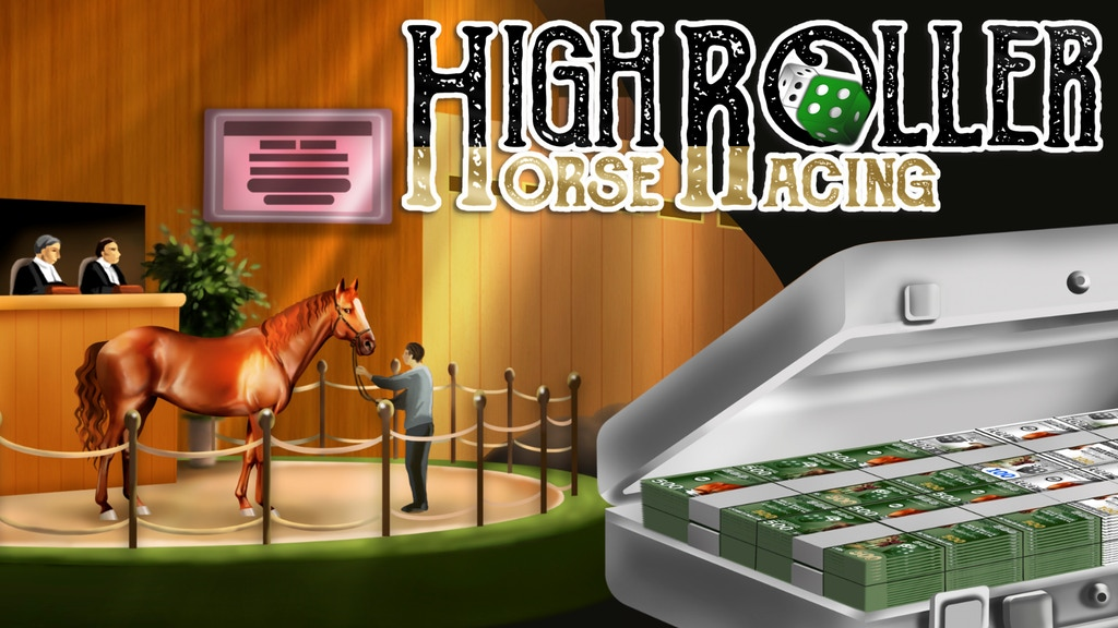 Project image for High Roller Horse Racing: a high stakes board game