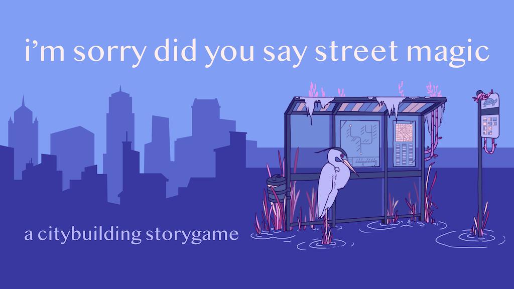i'm sorry did you say street magic