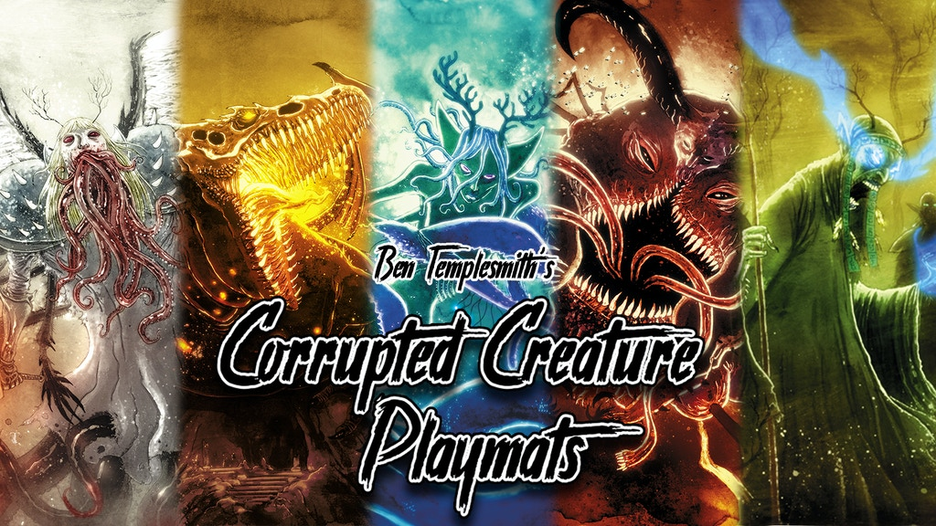 Corrupted Creature Playmats project video thumbnail