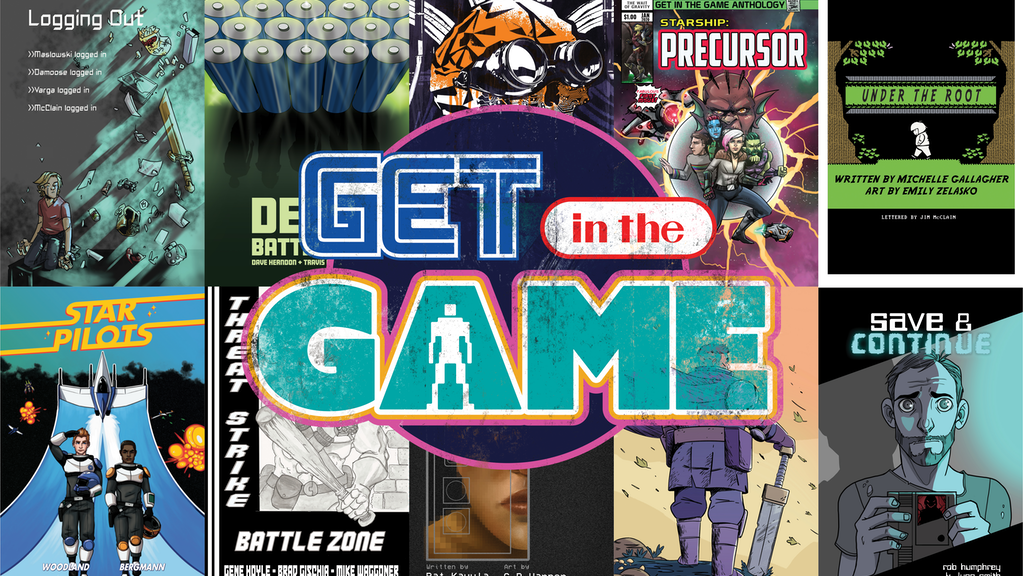 Get in the Game: A Comic Anthology project video thumbnail