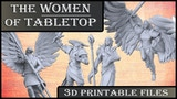 Women of Tabletop : 3D Printable STLs thumbnail