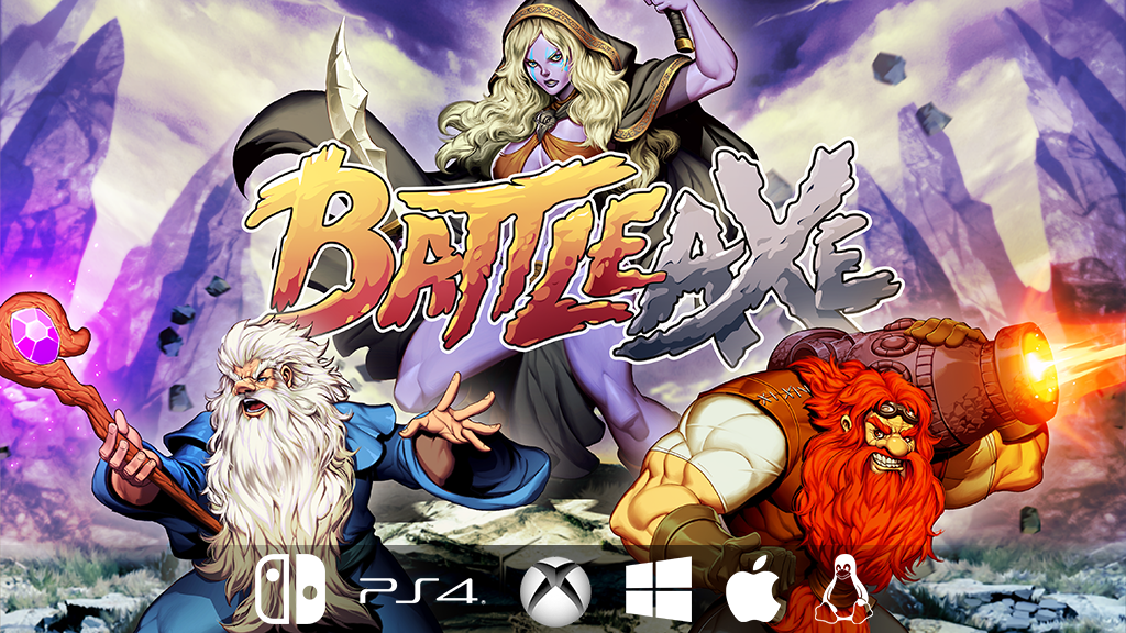 Battle Axe: a pixel-art arcade adventure! project video thumbnail