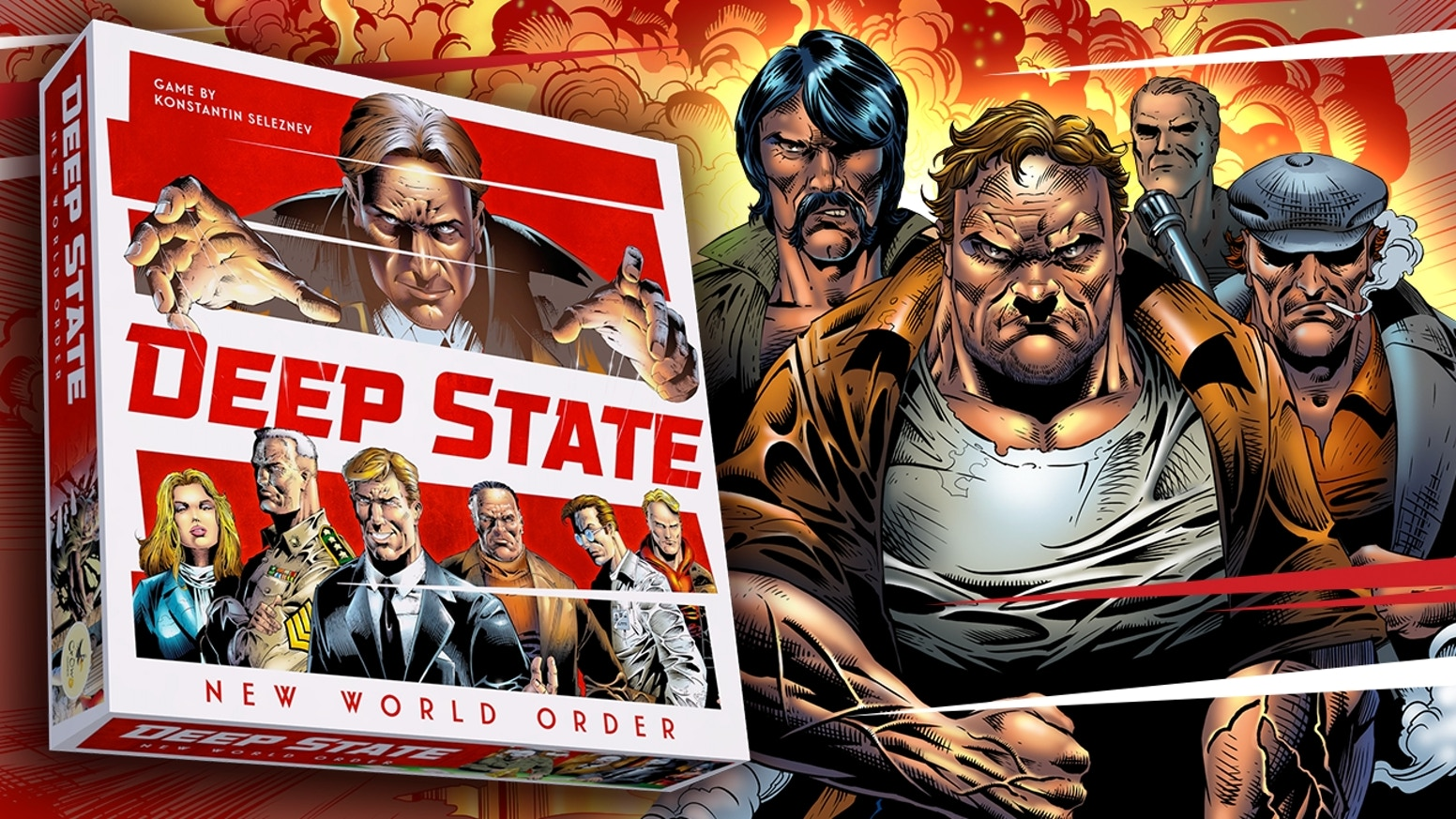 Seize the reins of power and rule the world! Strategy game of global conspiracies from the creators of Space Explorers.