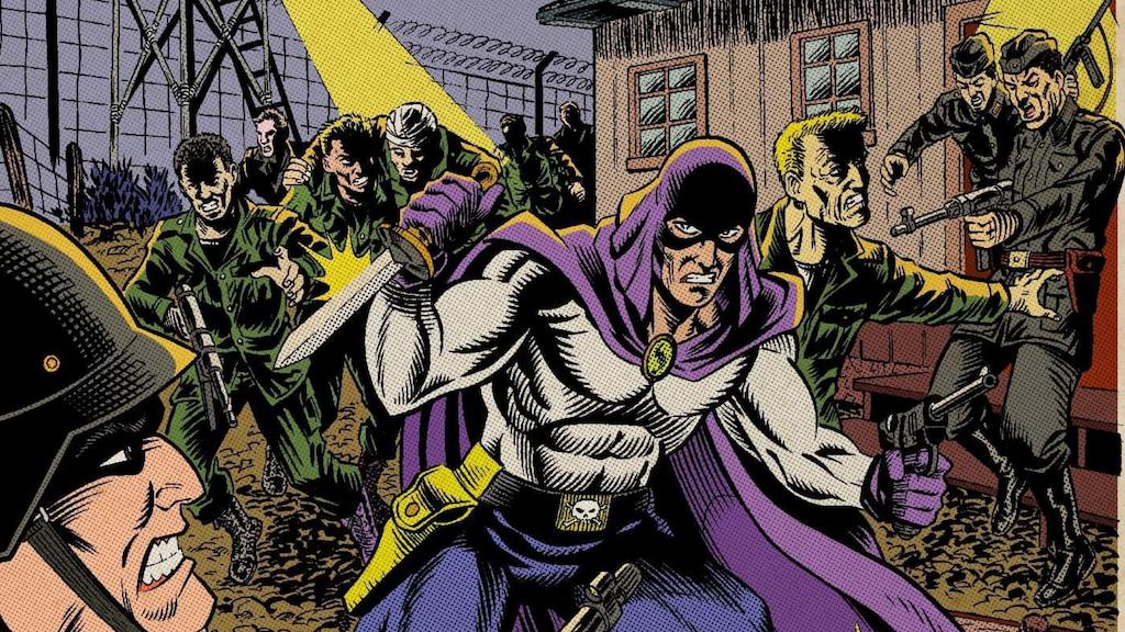 "Grim Reaper ""Black Dawn"" Golden-Age Superhero Comic project video thumbnail"