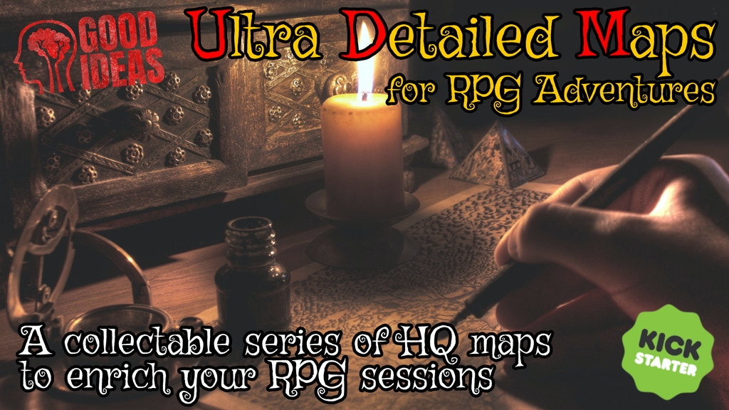 UDM - Ultra Detailed Maps for Fantasy Role Playing MAKE100!! project video thumbnail