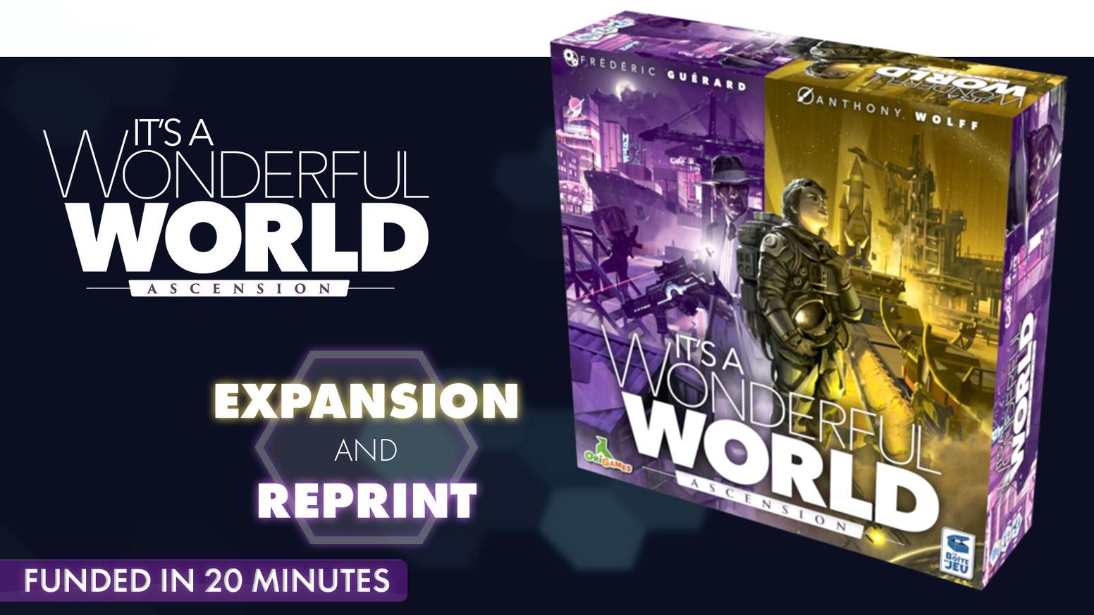 "The ""Ascension"" expansion for It's a Wonderful World."