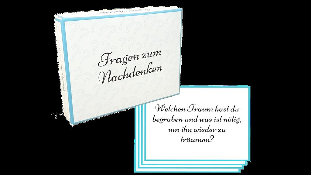 Project image for Gesprächs-Box: 55 tiefgehende Fragen zum Nachdenken