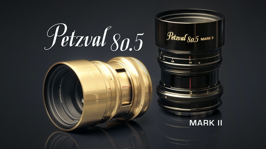 New Petzval 80.5 mm f/1.9 MKII SLR Art Lens project video thumbnail