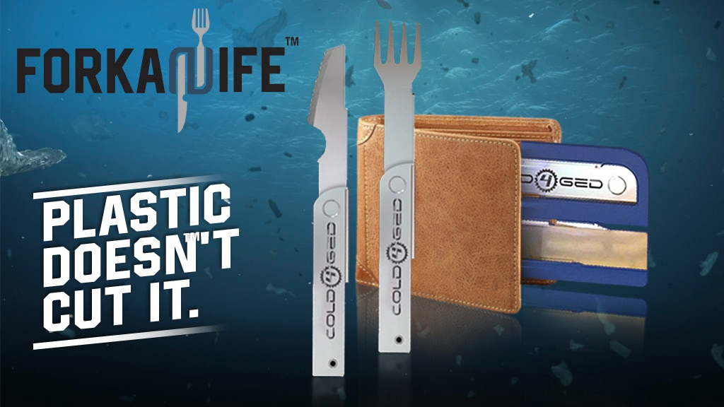Forkanife, an innovative replacement to plastic cutlery. project video thumbnail