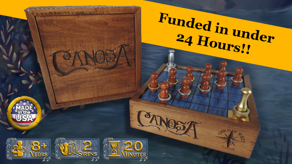 Canosa - Deluxe Wooden Board Game (Make 100) project video thumbnail