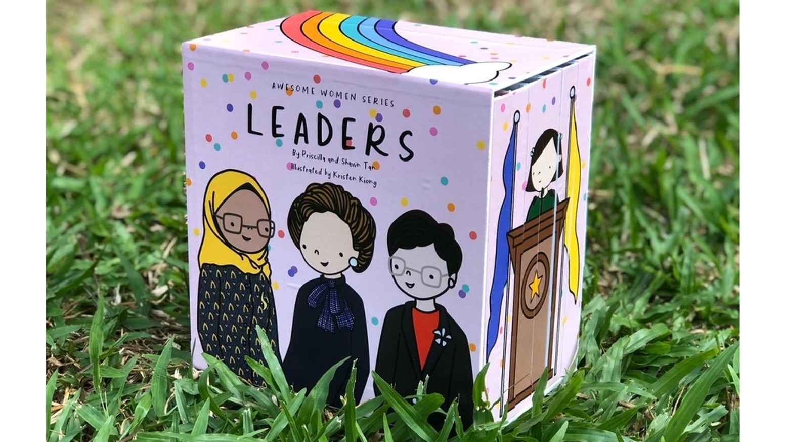 A series of board books featuring awesome female role models to inspire little girls to be anything they want to be. Individual books are available for pre-order too!