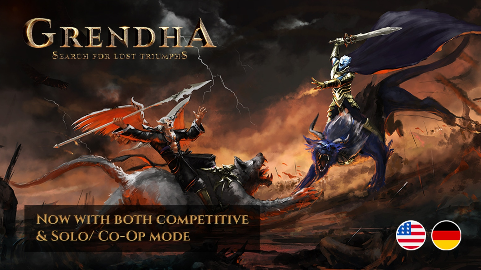 Grendha is a fantasy 1-4 player miniature wargame with special Co-op & Solo mode.
