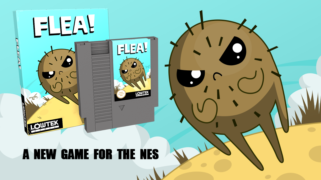 Flea: A new NES game project video thumbnail