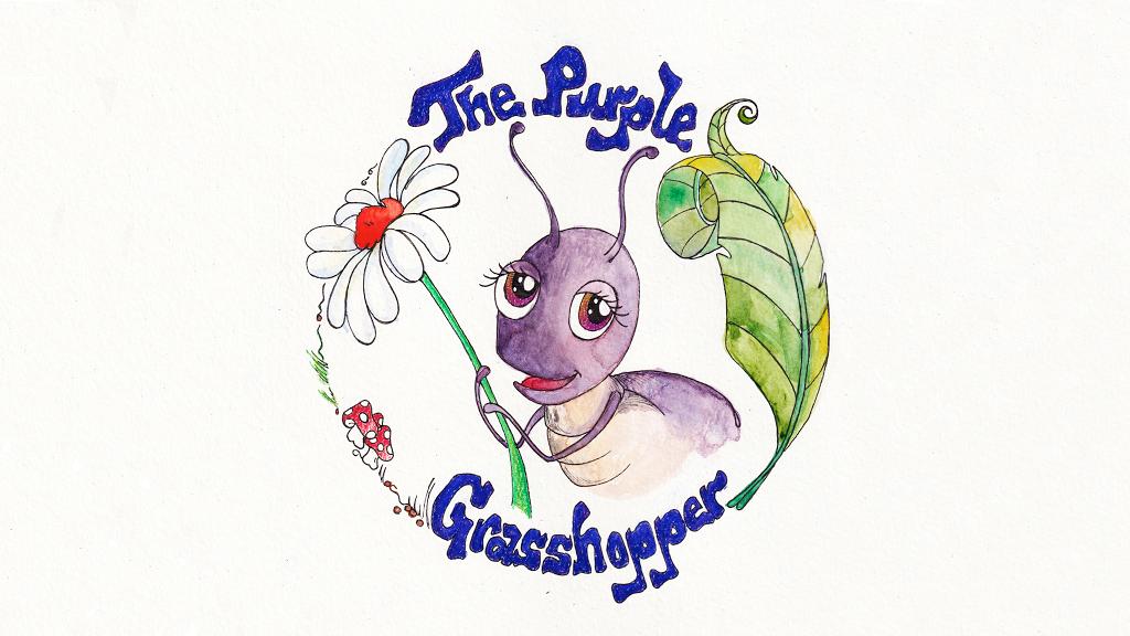 The Purple Grasshopper-A Fun and Inspiring Children's Book! project video thumbnail