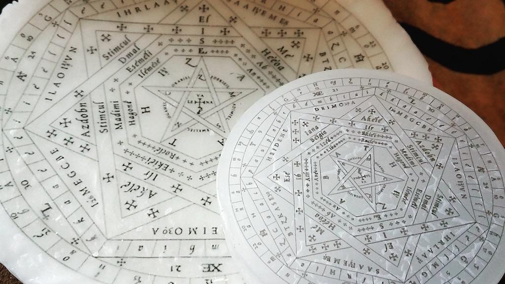Enochian Angel Ritual Magic Occult Esoteric Ceremonial Tools project video thumbnail