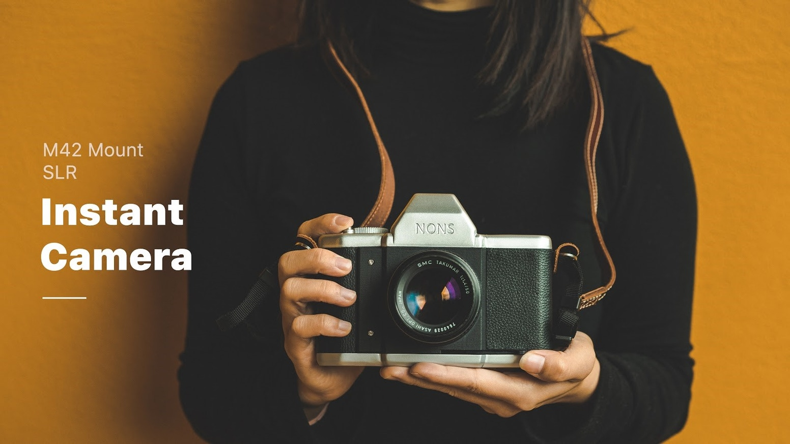 The First M42 Mount SLR Instant Camera - NONS SL42