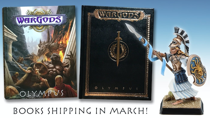 WarGods of Olympus – miniature battles in the age of myth and monsters!
