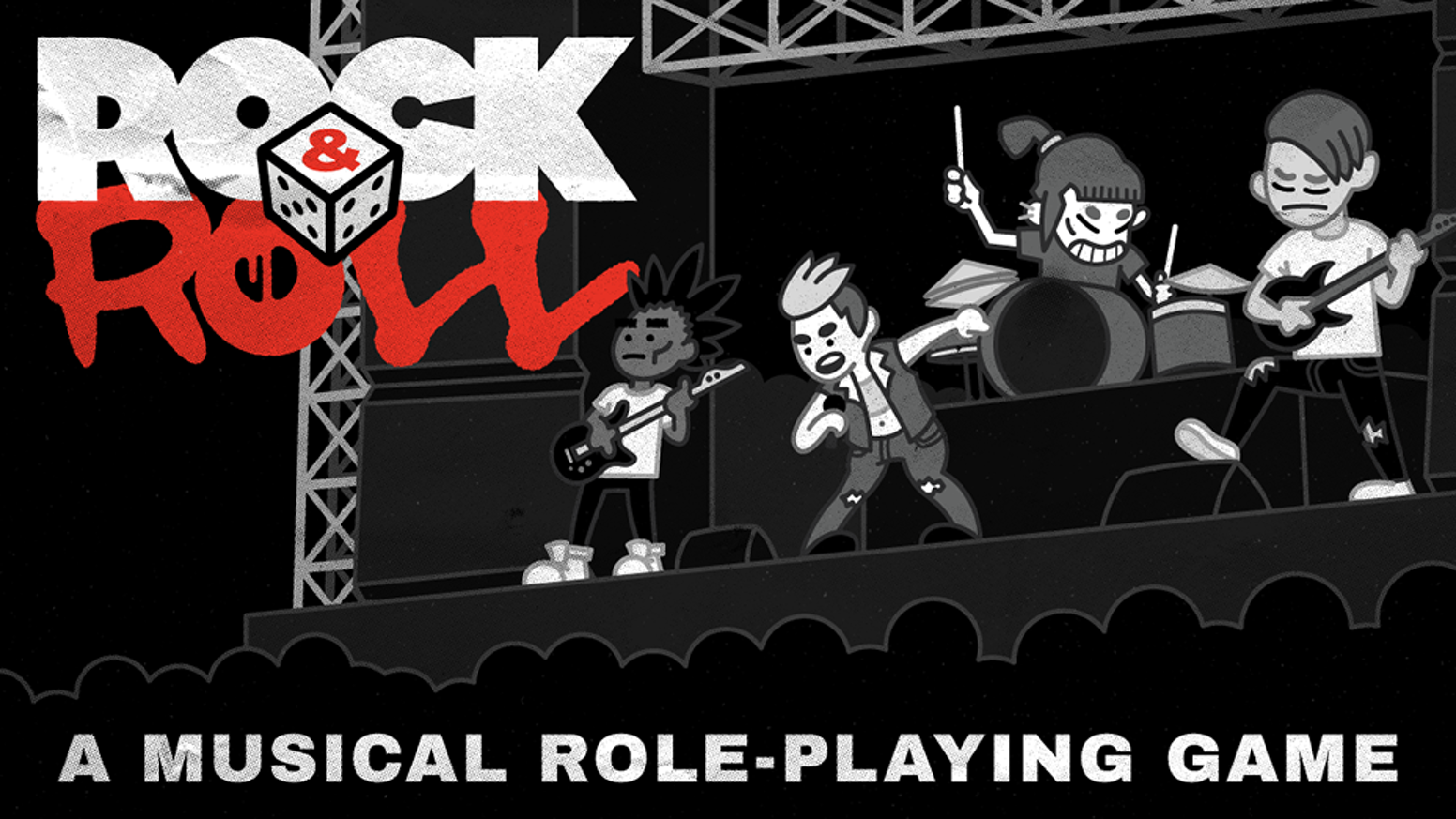 A tabletop role-playing game about making a band - play gigs, write jams, and get in the van.