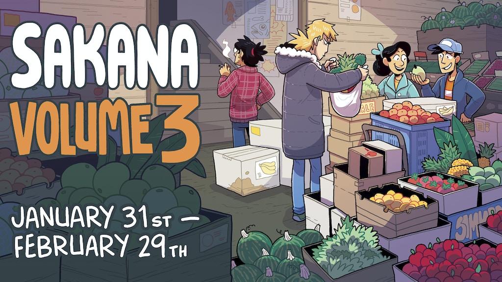 SAKANA Volume 3 Kickstarter project video thumbnail