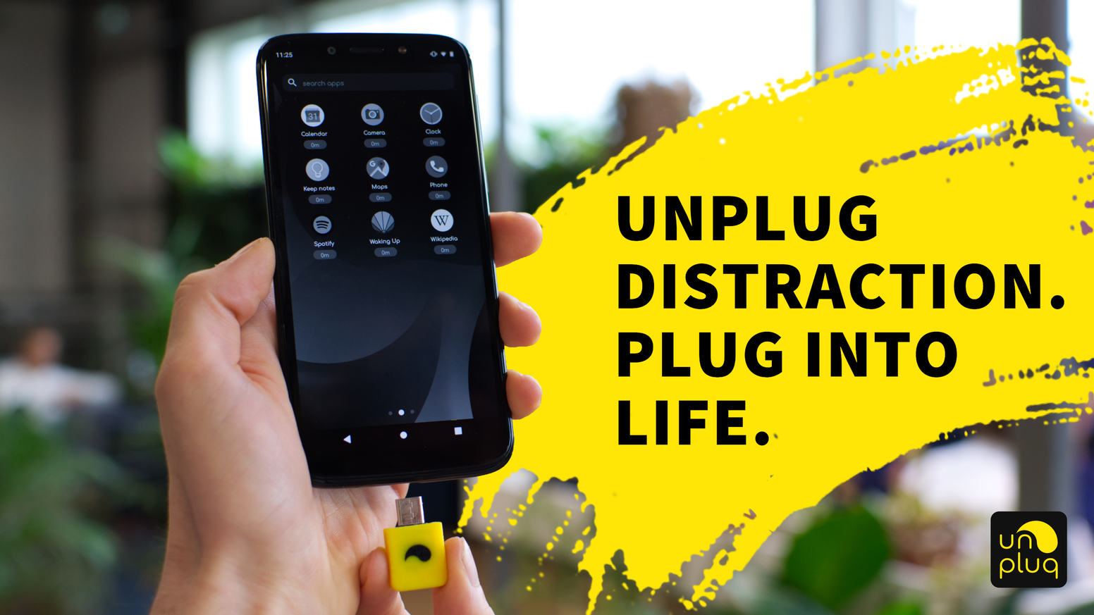 Focus on the meaningful things in life, by having the power to decide when to transform your phone into a distraction-free device.