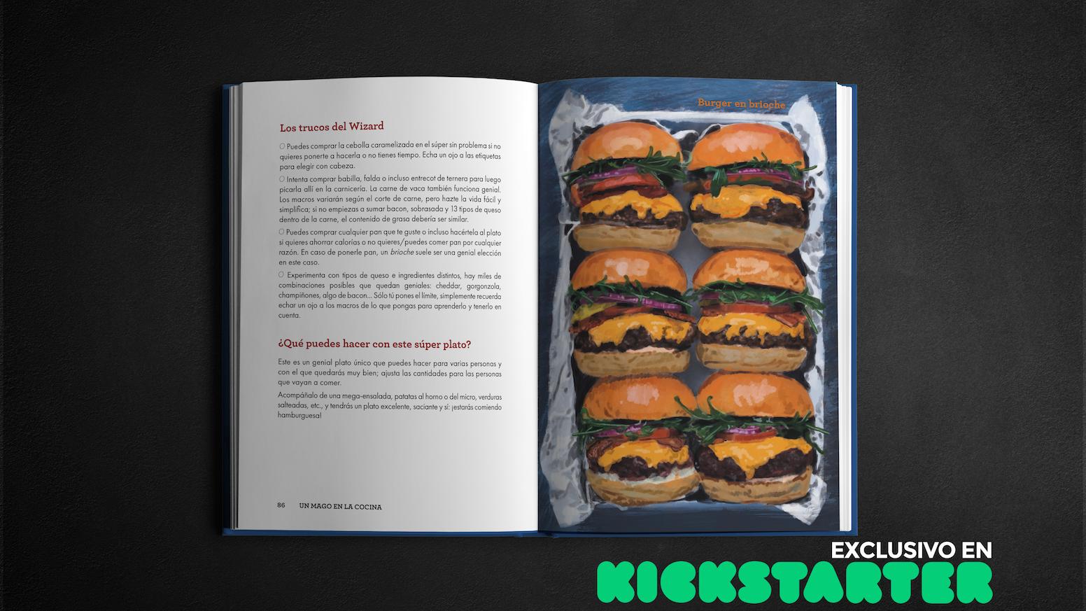 Descubre por qué cocinar puede ser la llave que te falta para desbloquear tus objetivos. ¡Más de 12.000 copias vendidas en todo el mundo!