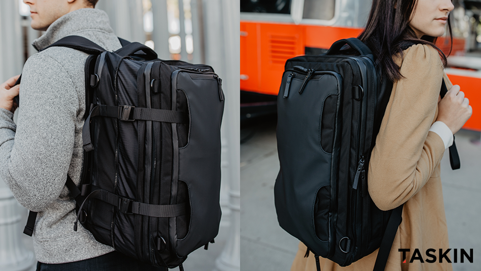 20L/30L/40L | Backpack/Shoulder/Hand Bag |  9 Practical Variations | The ONE Bag To Travel With, The Taskin ONE