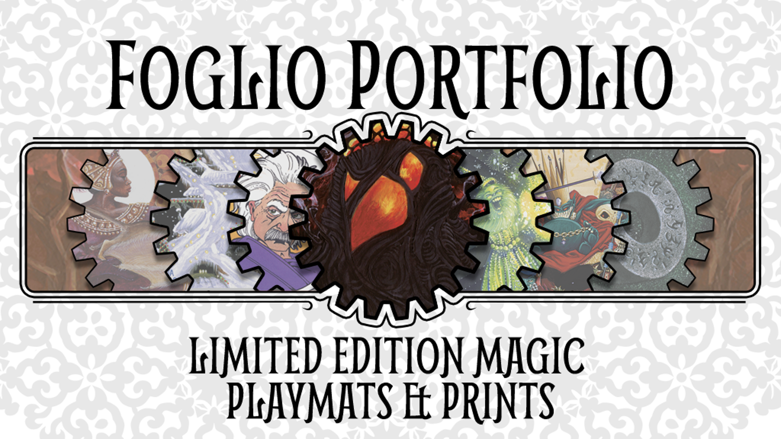 Limited Edition, Signed, Officially Licensed Magic: the Gathering Playmats and Prints by Kaja and Phil Foglio