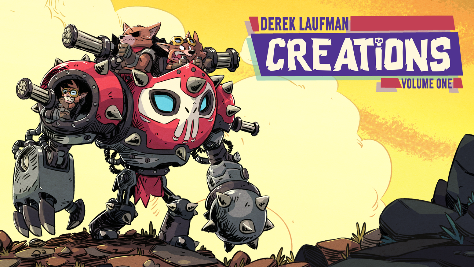 Creations is an Artbook by Derek Laufman. It's a collection of his original artwork from the past year.