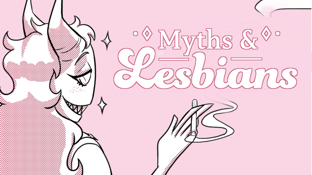 Project image for MYTHS & LESBIANS - a WLW Comic Anthology