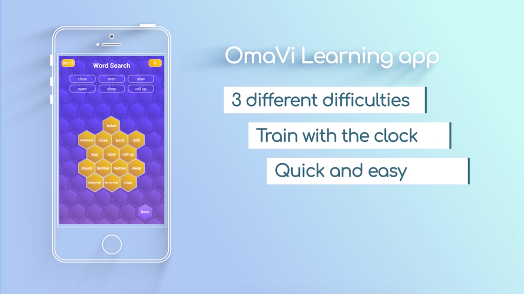 OmaVi Learning App