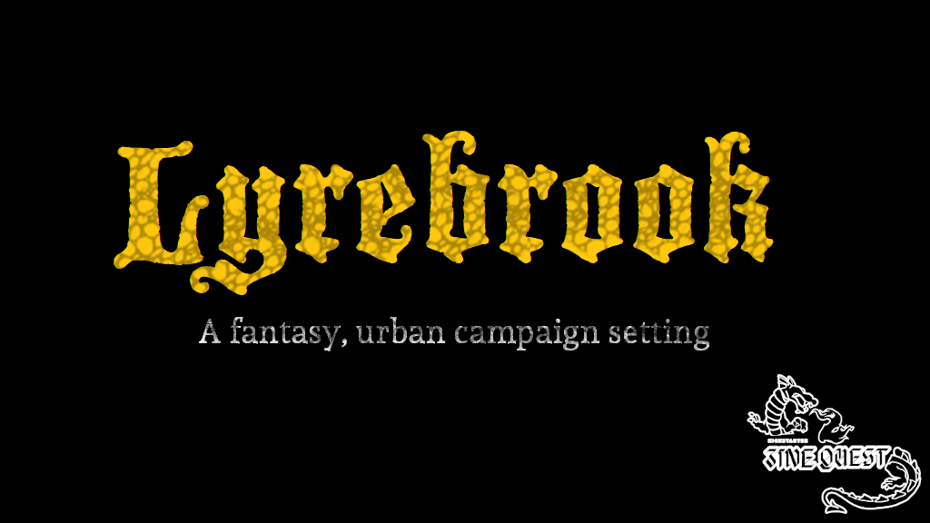 Project image for Lyrebrook: Campaign Setting #zinequest