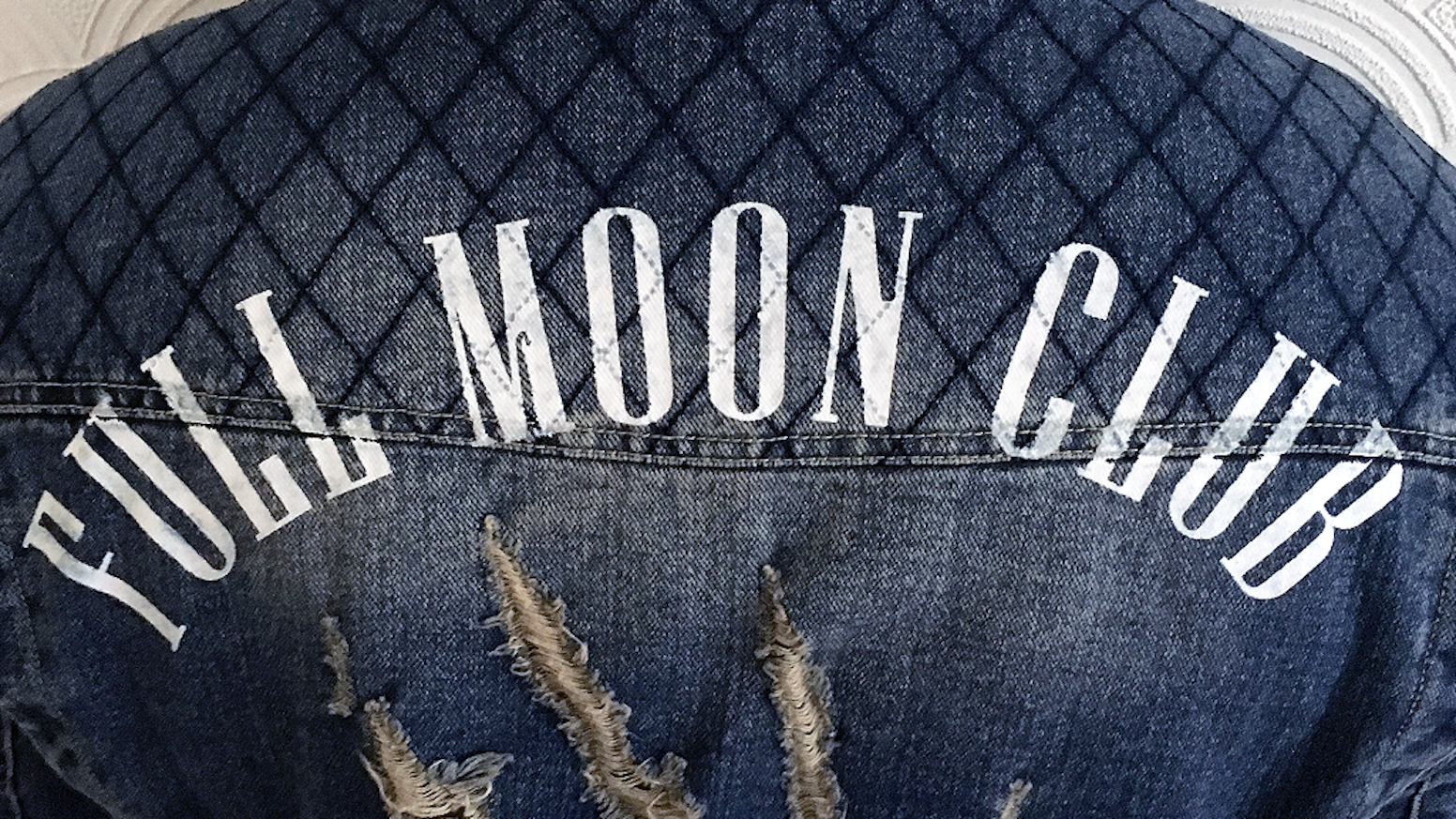 Kickstarter for the Full Moon Club denim jacket!